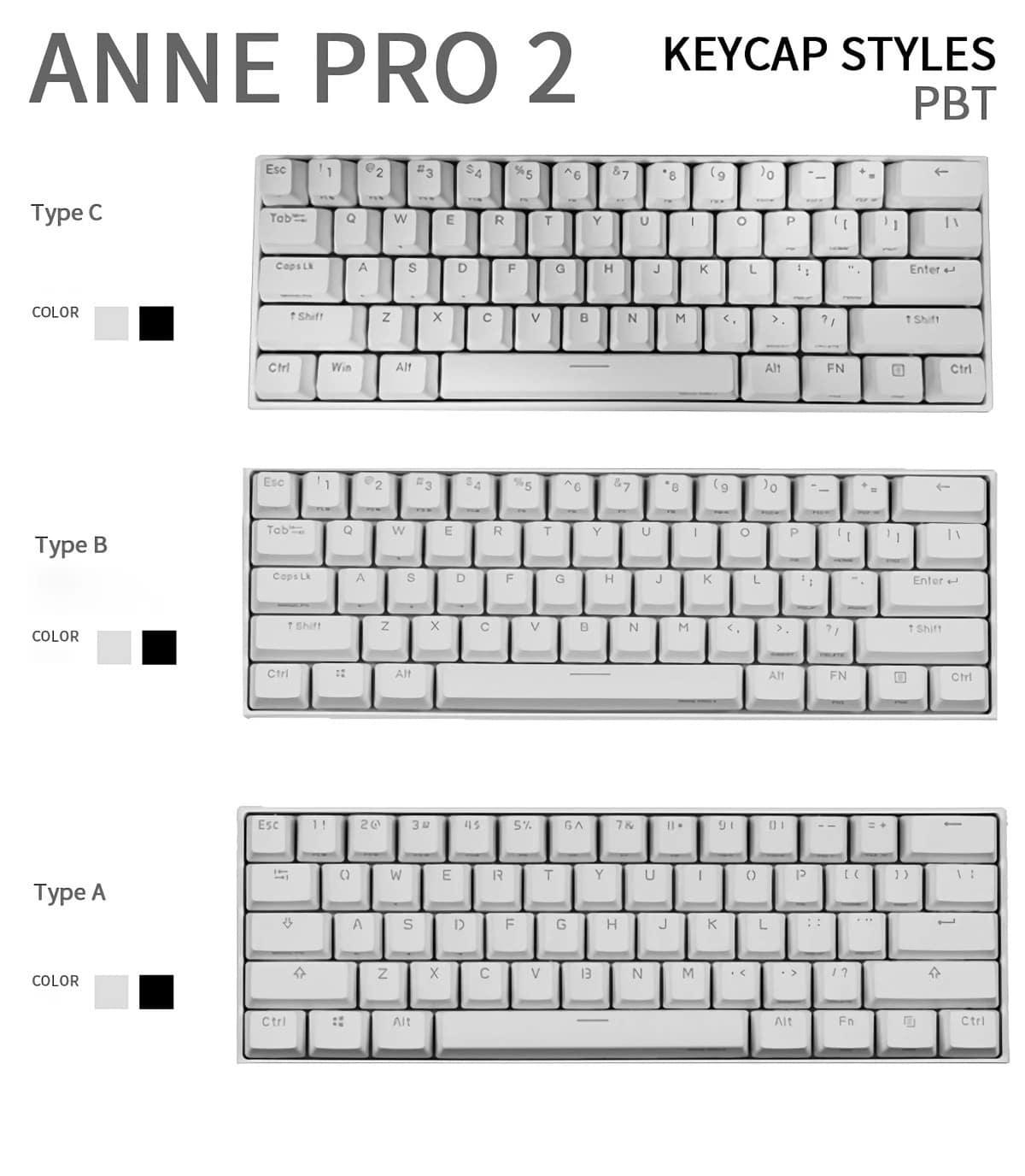 Anne Pro 2 Performance: wireless mechanical keyboard